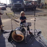 jammin on the drums